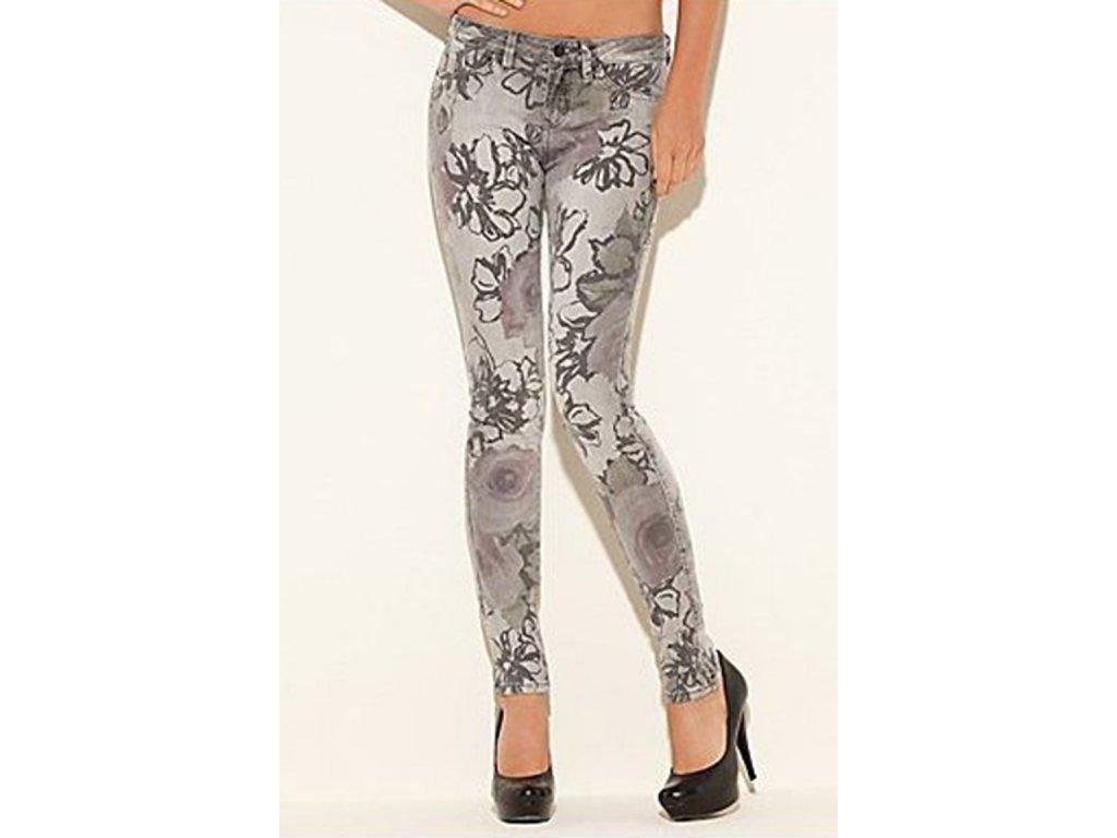 GU299 GUESS jeans Brittney Skinny Floral Printed