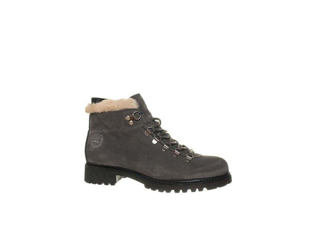 USP13 U.S. Polo ASSN. dámské kotníkové boty šedé