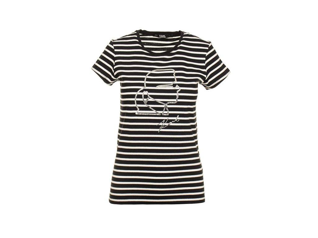 KL17 Karl Lagerfeld dámské tričko (1)