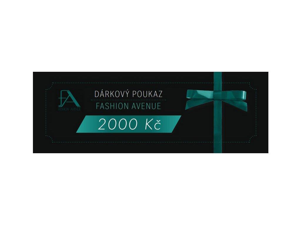 Dárkový voucher 2000,-