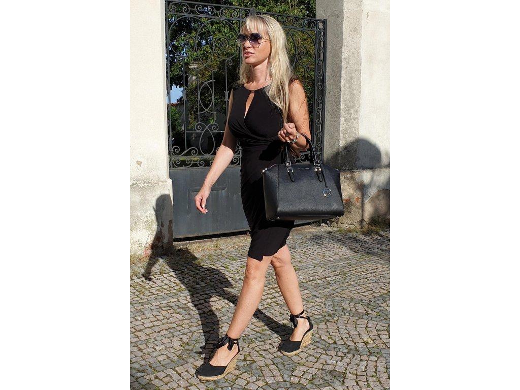 Ralph Lauren dámské šaty černé
