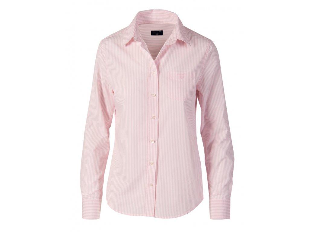 Gant dámská košile růžové proužky G17