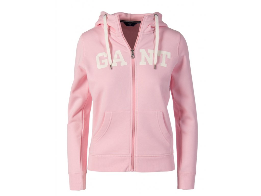 G22 Gant dámská mikina růžová (2)