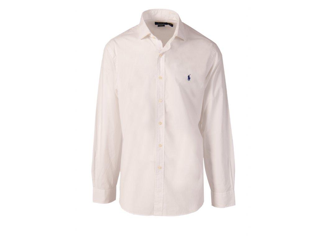 Ralph Lauren pánská košile bílá