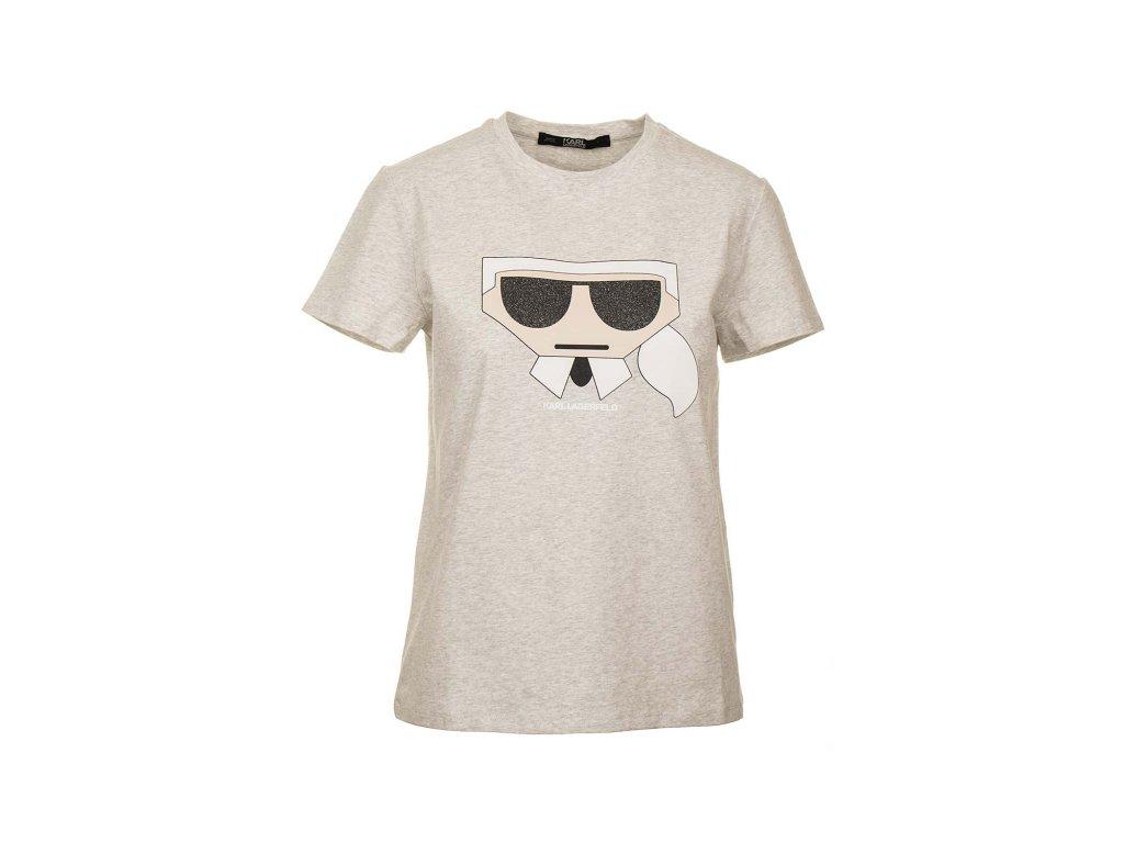 KL40 Karl Lagerfeld dámské tričko (1)