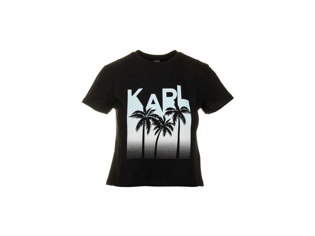 KL41 Karl Lagerfeld dámské tričko (1)