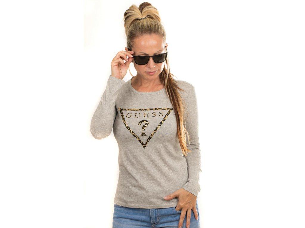 GU411 Guess dámské tričko s potiskem (1)