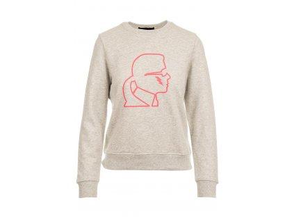KL56 Karl Lagerfeld dámská mikina (1)