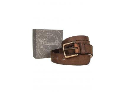 NA259 Napapijri kožený pásek (1)