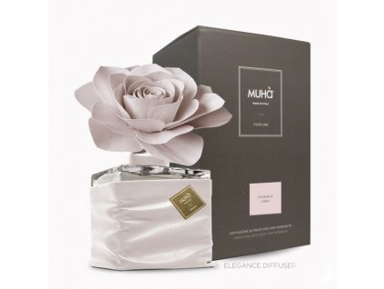 H905 MUHA Elegance Rose difuzér Acqua e Sale 500 ml