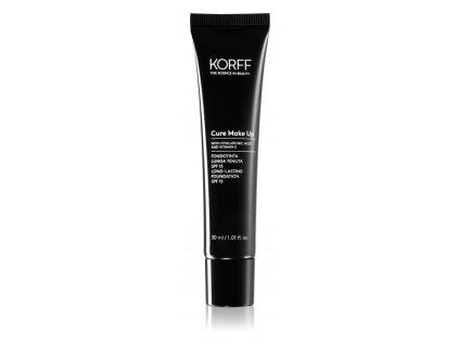 Korff Cure Ma keup dlouhotrvající make-up SPF 15 odstín 04 lístkový ořech 30 ml