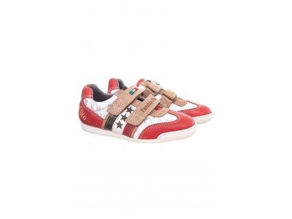 Pantafola D´oro dětské tenisky červeno bílé