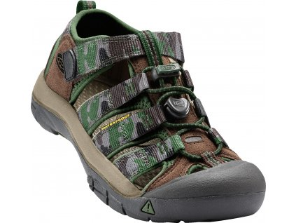 Keen Kids Newport H2 Cascade Brown Kamo