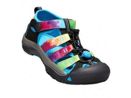 Keen Kids Newport H2 Rainbow tie dye