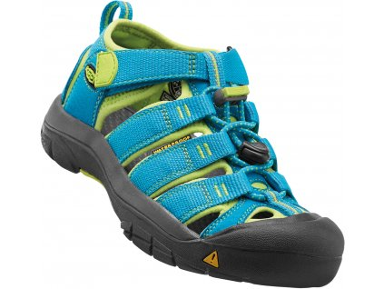 Keen Kids Newport H2 hawaian blue/green glow