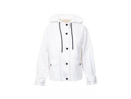 MK143 Michael Kors Dámská džínová bunda bílá (7)