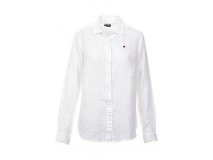 NA277 Napapijri dámská košile bílá (1)