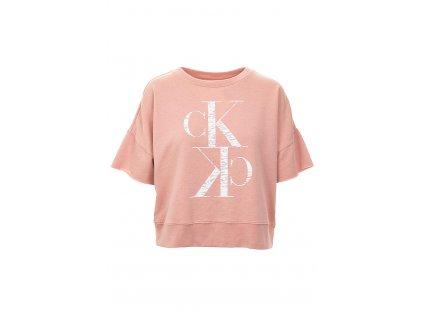 CK69 Calvin Klein dámský svetr růžový (1)
