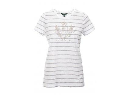 RL147 Ralph Lauren Dámské tričko pruhované