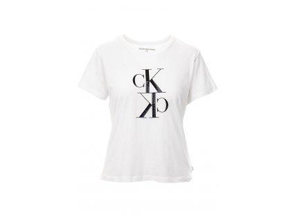 CK71 Calvin Klein dámské tričko bílé (2)