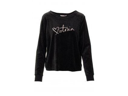VS37 Victoria's Secret dámská mikina černá (1)