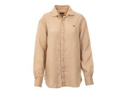 NA278 Napapijri dámská košile béžová (1)