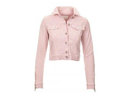 GU486 Guess dámská džínová bunda růžová (1)