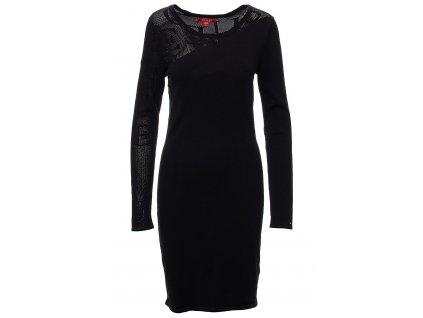 GU494 Guess dámské šaty Roxie černé