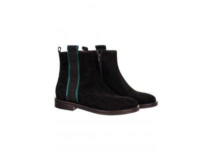 KS1 Kennel&Schmenger dámské kotníkové boty černé (1)