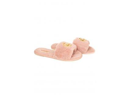 MK162 Michael Kors dámské pantofle Alexis růžové (1)