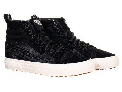 V5 Vans dětské kotníkové boty SK8 HI MTE černé (1)