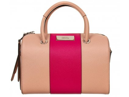 KL88 Karl Lagerfeld dámská kabelka béžovo růžová (1)