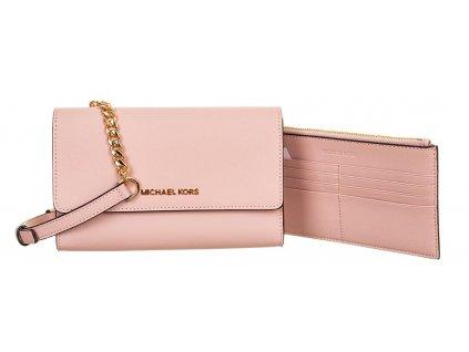 MK172 Michael Kors dámská kabelka Blossom růžová (1)
