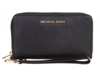 MK173 Michael Kors dámská kožená peněženka černá (1)