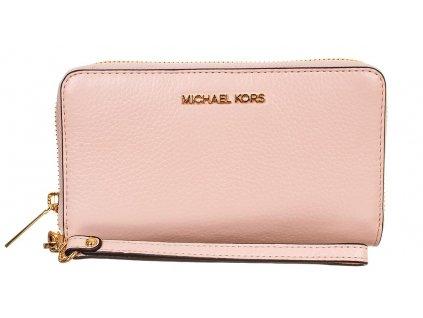 Michael Kors dámská kožená peněženka růžová