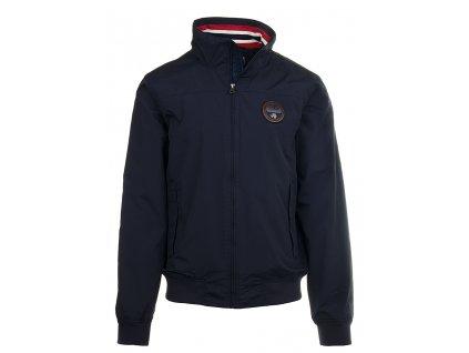NA36 Napapijri pánská bunda tmavě modrá (1)