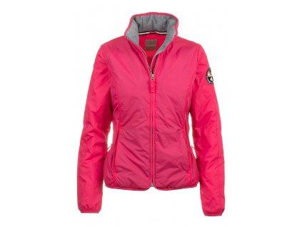 NA68 Napapijri dámská bunda růžová (1)