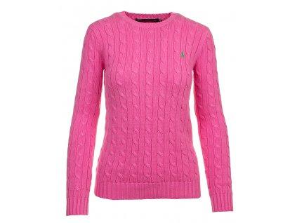 RL40 Ralph Lauren dámský svetr růžový