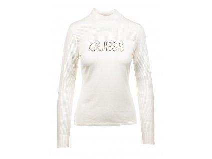 GU226 Guess dámský svetr bílý (1)