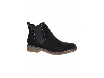 TM8 Tamaris dámské boty černé (1)