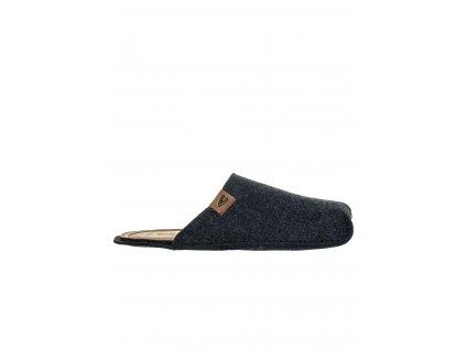 CA1 Camel pánské pantofle černé (1)