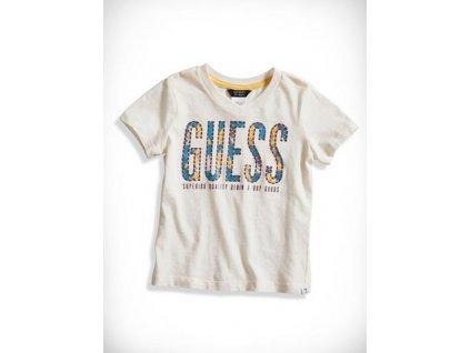 GU61 Guess dětské tričko bílé