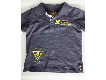 GU276 Guess dětské tričko černé