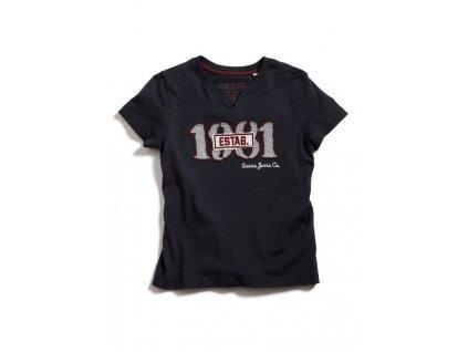 GU99 Guess dětské tričko černé