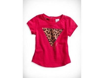 GU75 Guess dětské tričko růžové