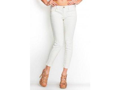 GU286 GUESS Brittney Cropped White dámské džíny