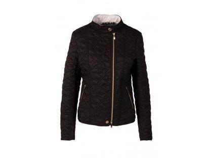 Armani dámská bunda černá s bílou