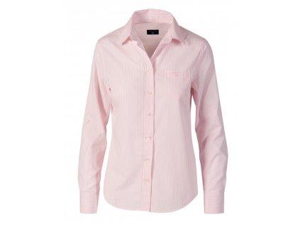Gant dámská košile růžové proužky