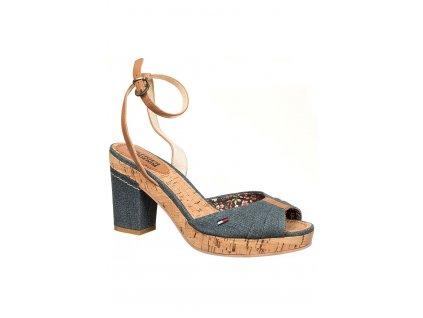 TH82 Tommy Hilfiger dámské boty na klínu (2)