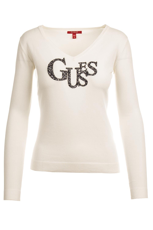 Guess dámský svetr bílý Velikost: XS